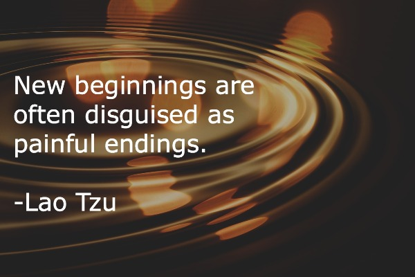 Lao Tzu New beginnings quote